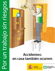 Accidentes, en casa tambien ocurren