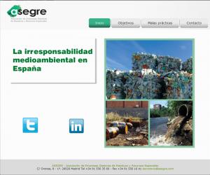 irresponsabilidad medioambiental en españa