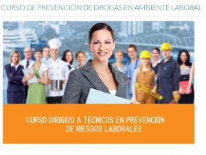 Formación en prevención de drogas en el ambiente laboral