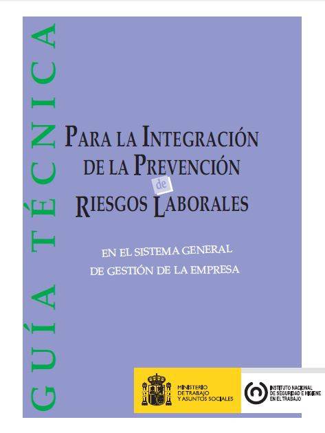 Plan para la integración de la `prevención en la empresa