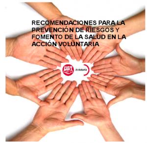 Guía para la prevención de riesgos en el voluntariado