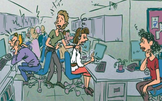 Prevención en call centers