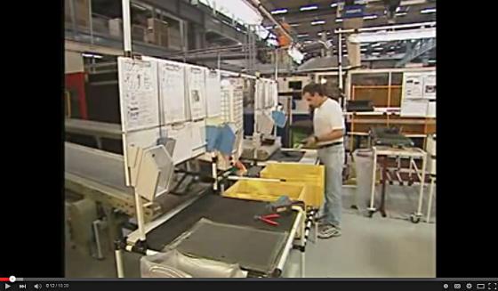 Kanban en la fábrica
