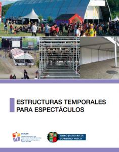 Prevención en el montaje de estructuras temporales para espectáculos