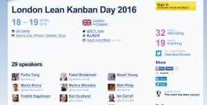 Lean Kanban Londres