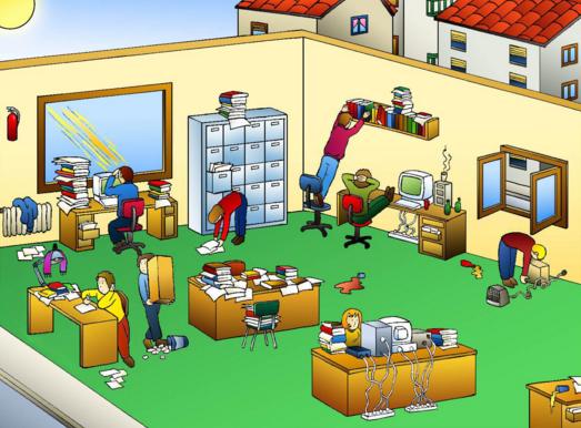 Riesgos laborales exyge consultores for Riesgos laborales en oficinas