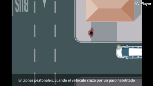 Preferencia peatones y ciclistas