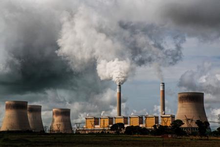 Central eléctrica de carbon