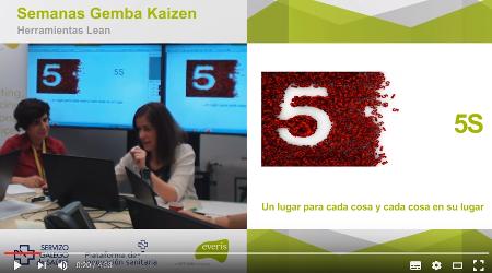 5S en el sector Salud