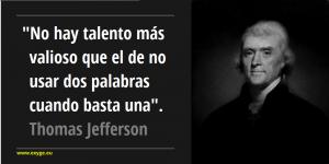 Frase Thomas Jefferson
