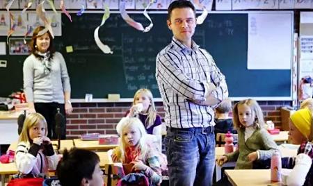 Lean en escuela noruega