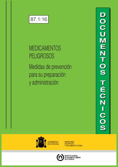 Prevención en los trabajos con medicamentos peligrosos