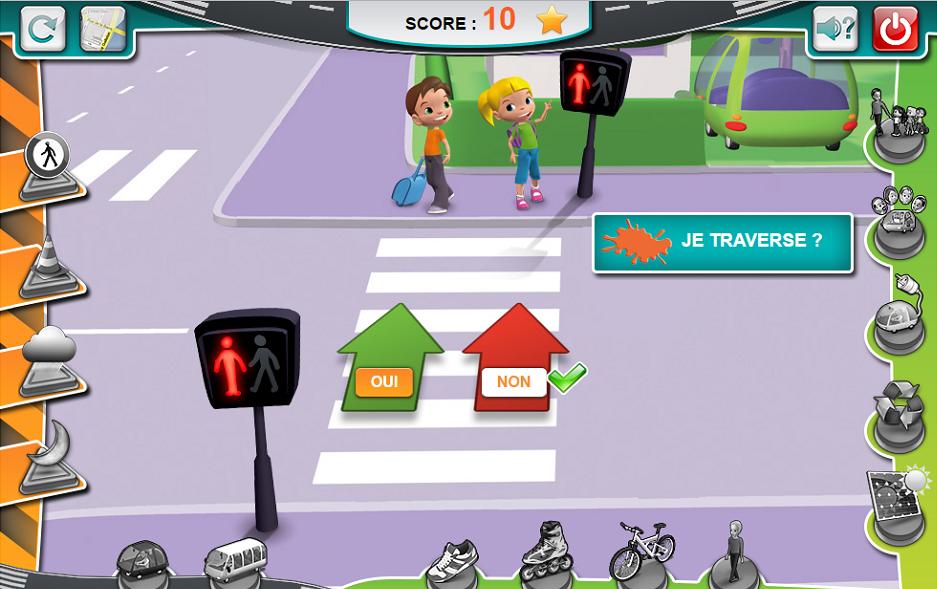 Serious game para seguridad vial