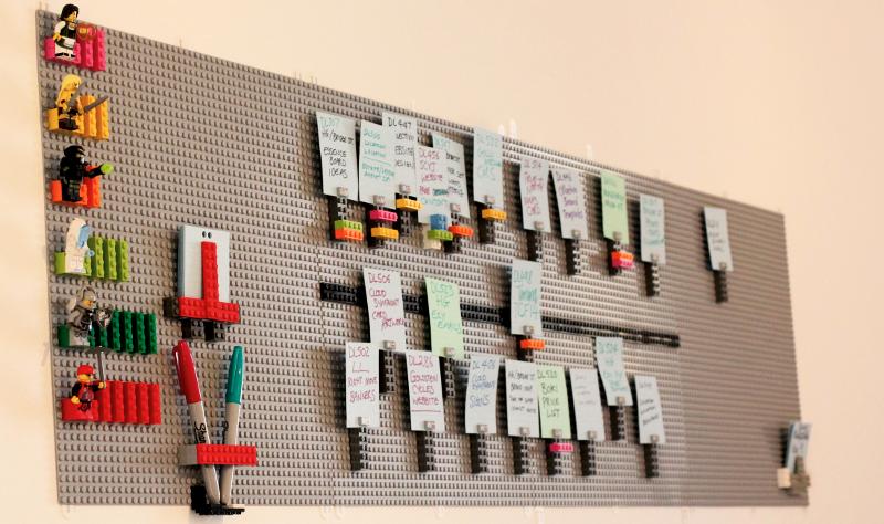 Kanban con Lego