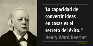 cita-henry ward beecher