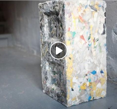 Ladrillos de plástico