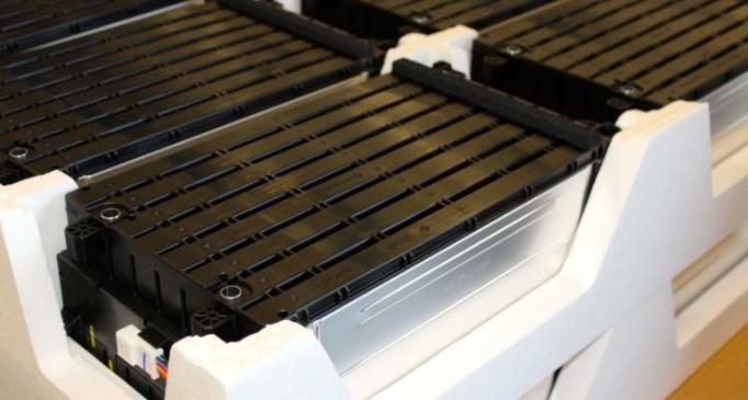 Reciclando baterías de coches eléctricos
