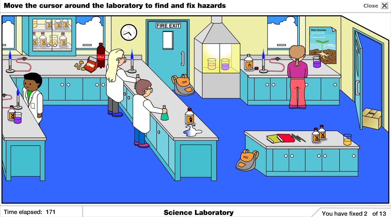 El riesgo en el laboratorio