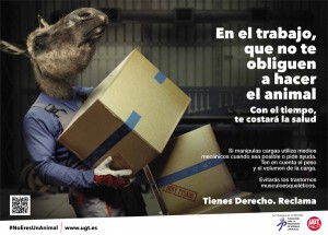 En el trabajo, que no te obliguen a hacer el animal