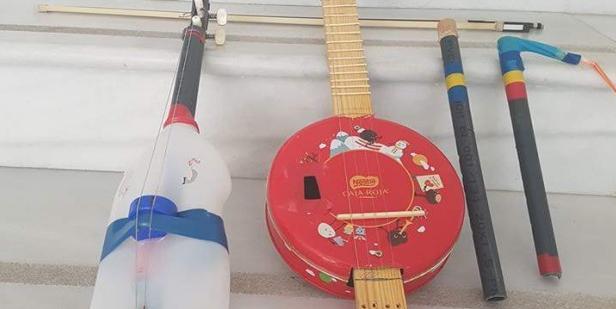 El luthier de la basura