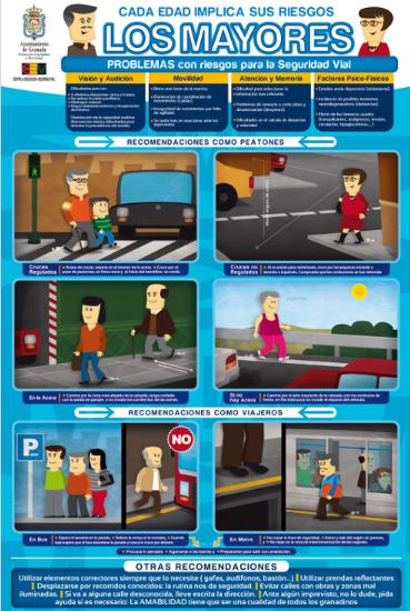 Seguridad vial para mayores