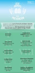 Los 10 mandamientos de la prevención