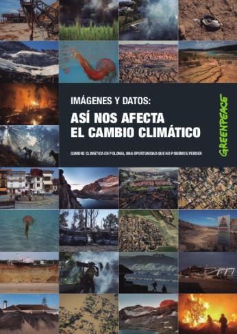EEfectos del cambio climático
