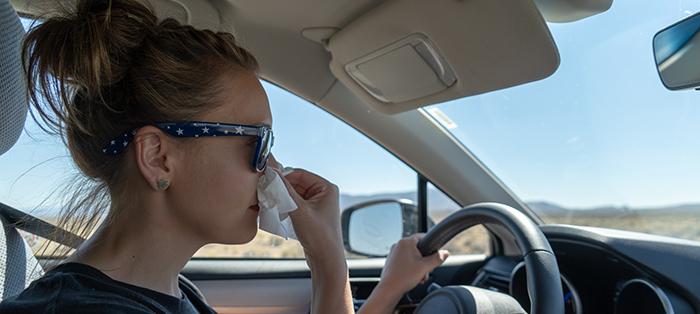 El riesgo de estornudar