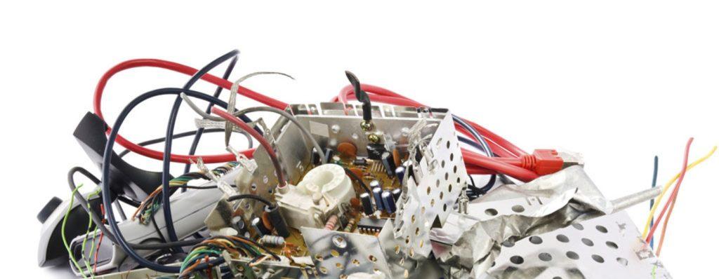 La basura electrónica