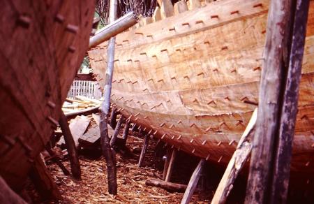 Construcción de un barco
