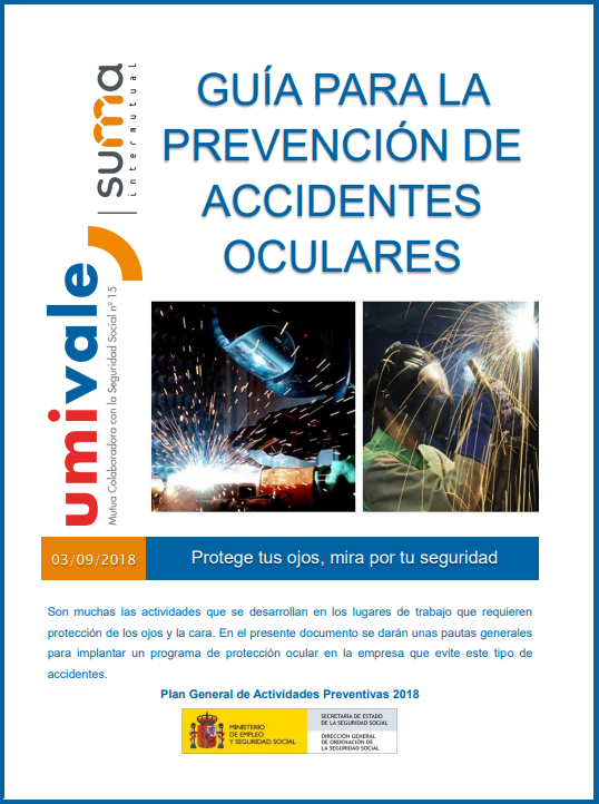 Prevención de accidentes oculares