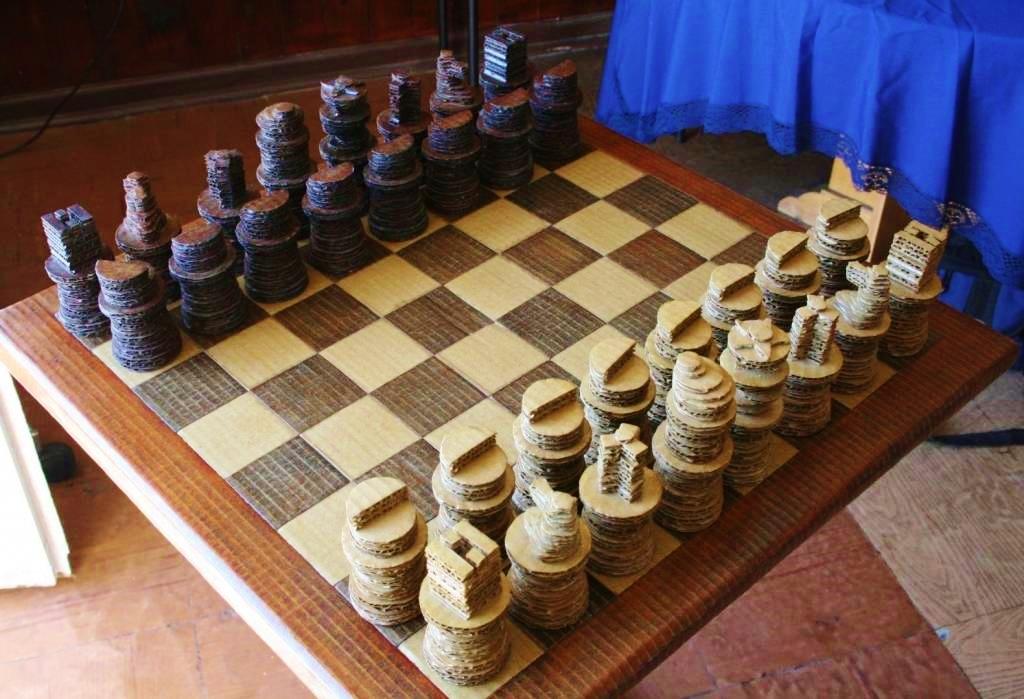 Reciclando el ajedrez
