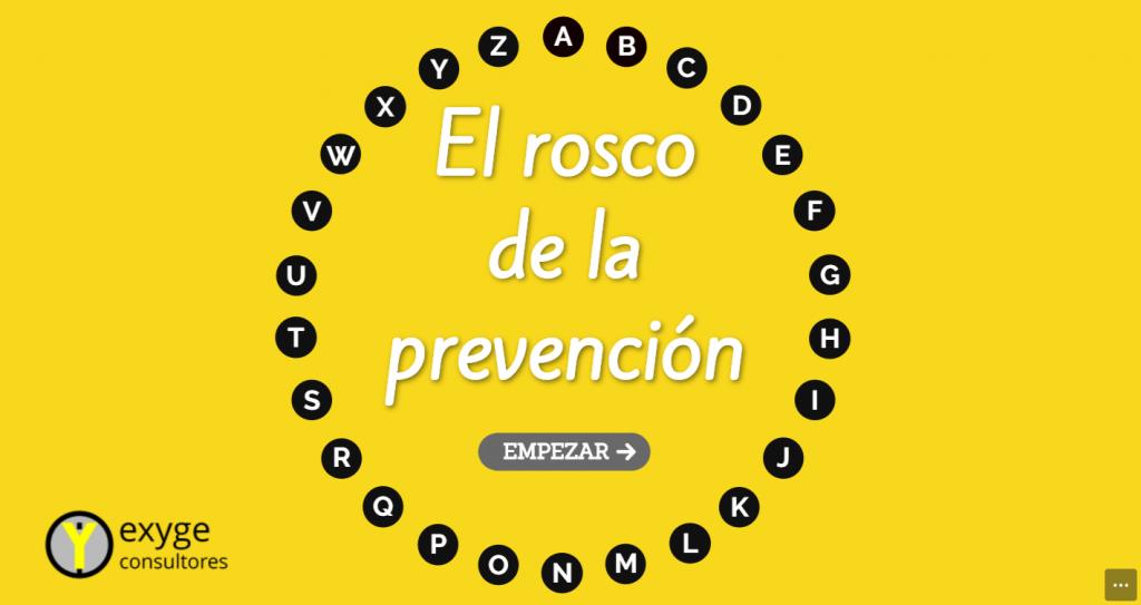 El rosco de la prevención