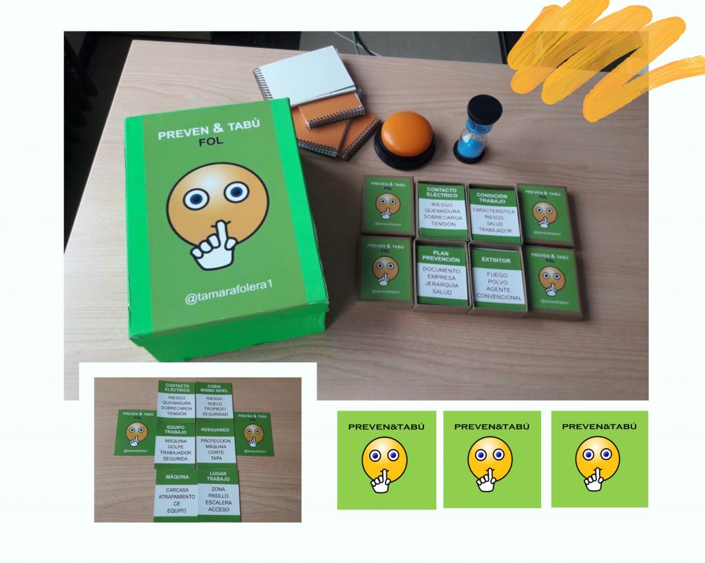 Ejemplos de tarjetas (unidad 3 prevención)