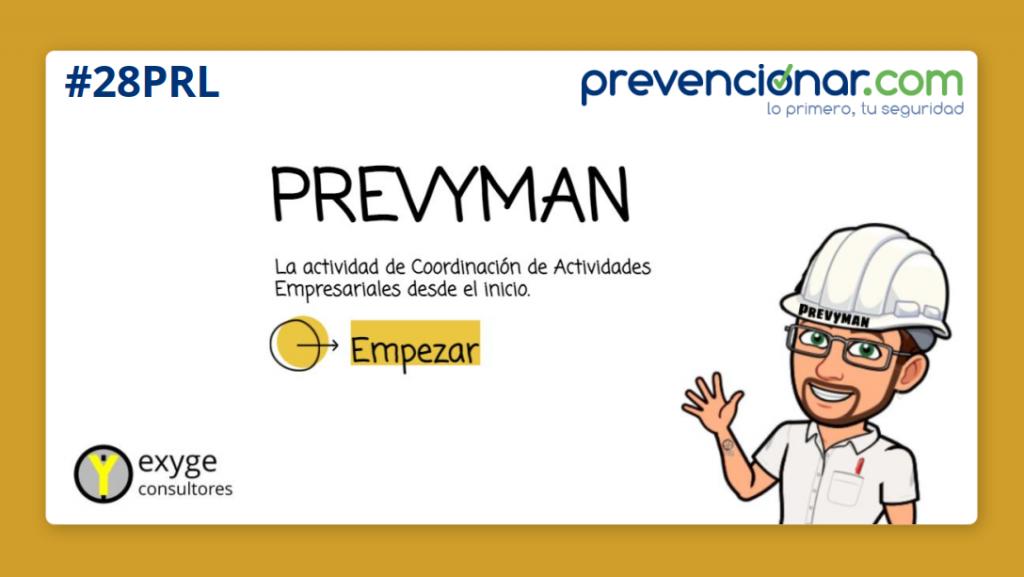 Presentación Prevyman para Prevencionar
