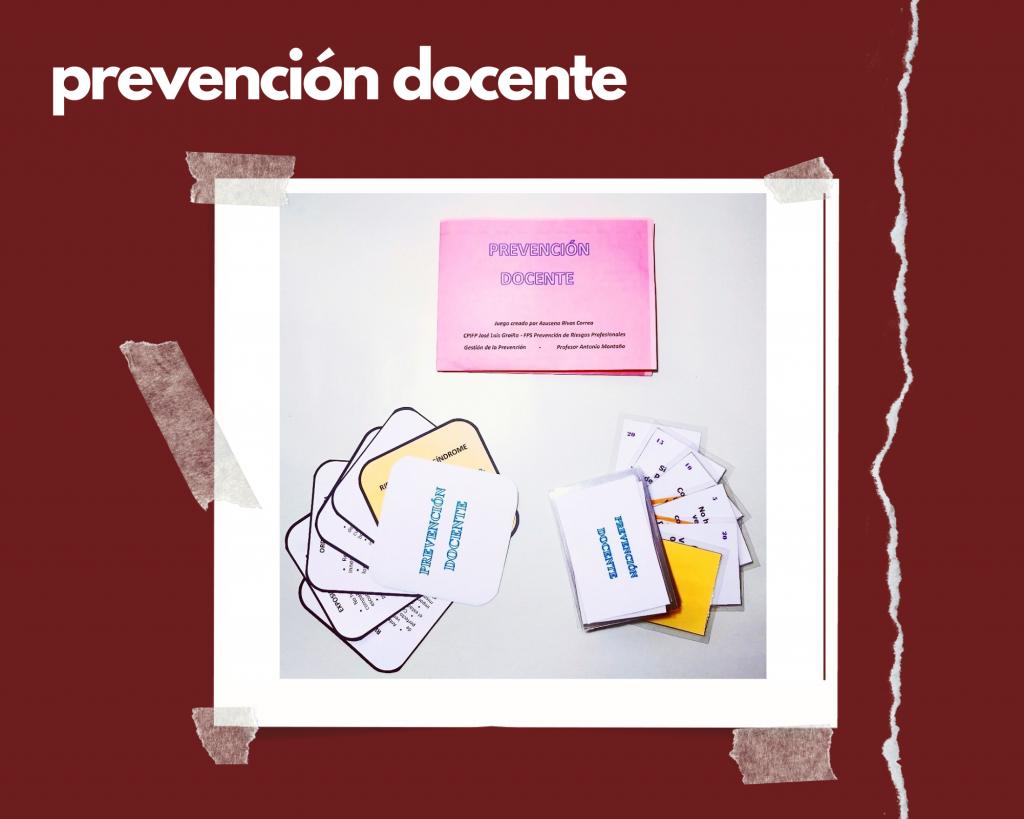 Prevención docente