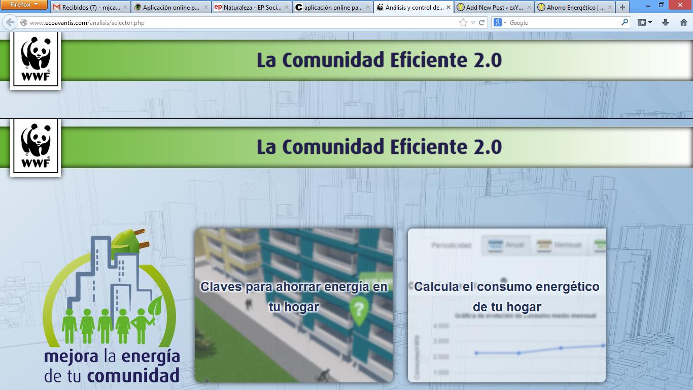 Comunidad eficiente 2.0