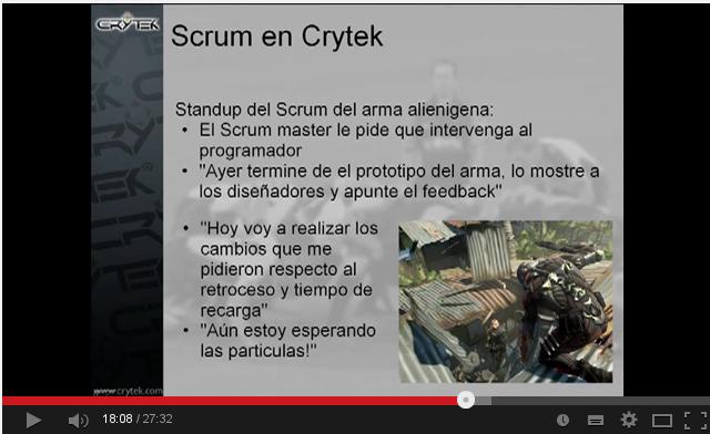 Srum en Crytek