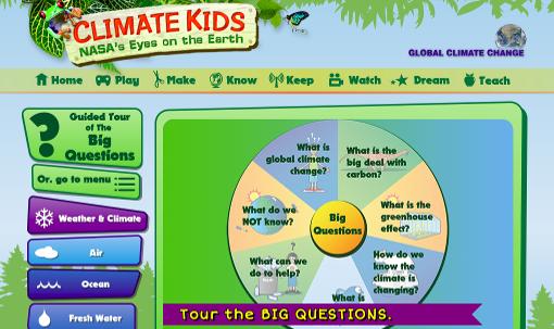 NASA - Climate Kids