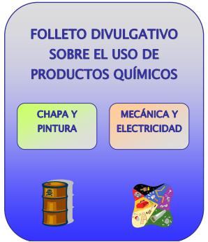 Químicos en talleres