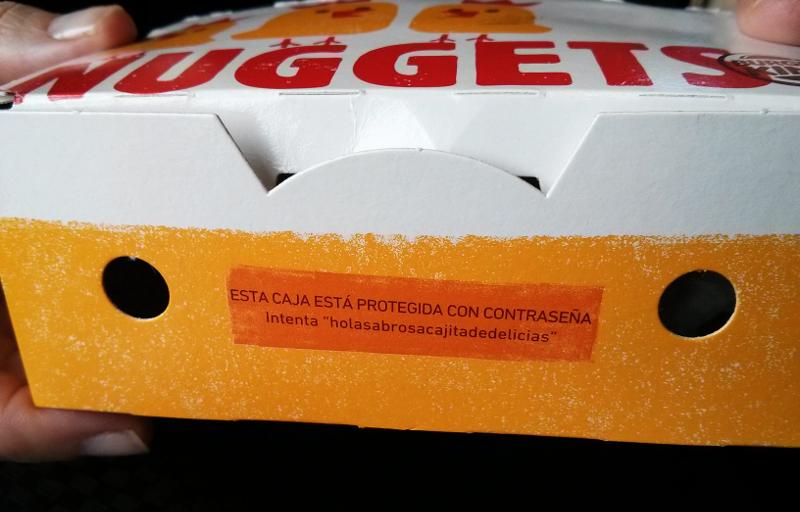 Mensaje sorpresa en los nuggets