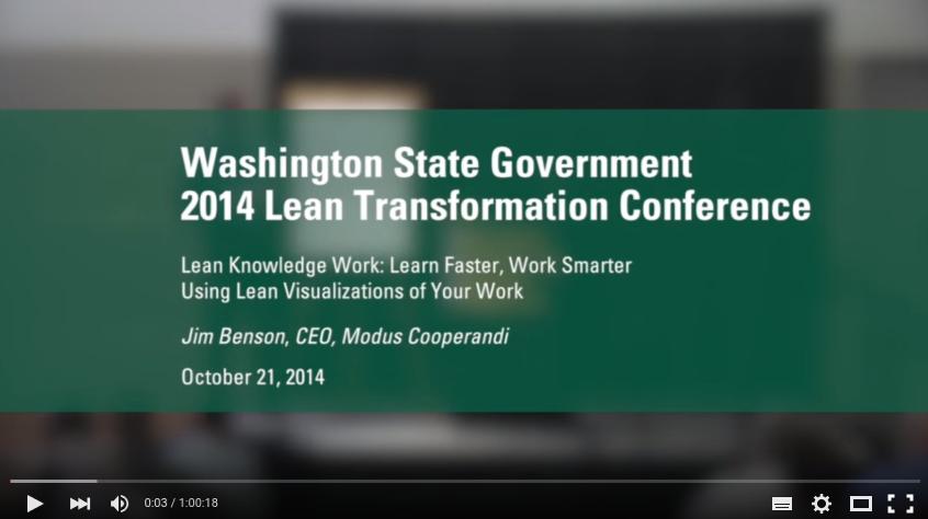 Lean en el estado de Washington