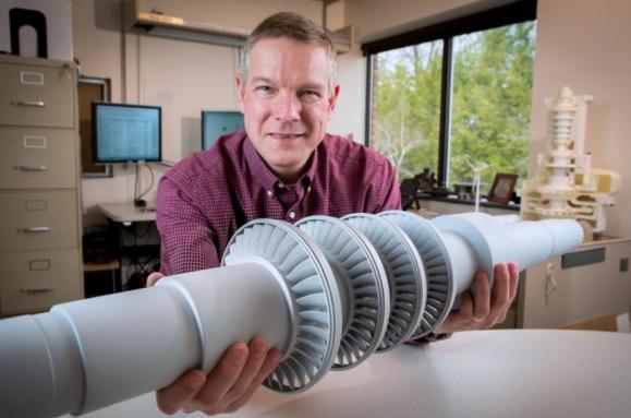 Turbina de CO2