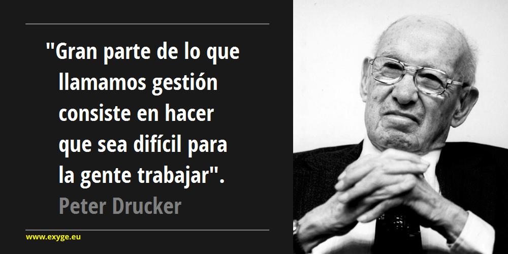 Cita Peter Drucker