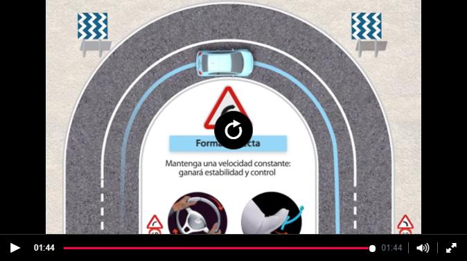 Conducción en curvas