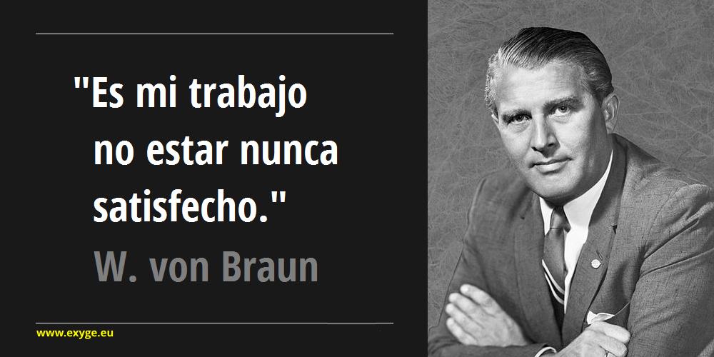 Cita Wernher Von Braun