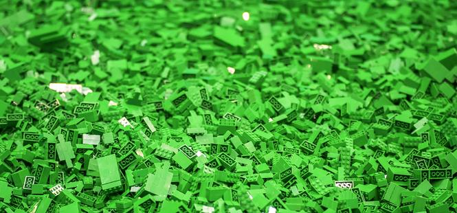 Lego se vuelve verde
