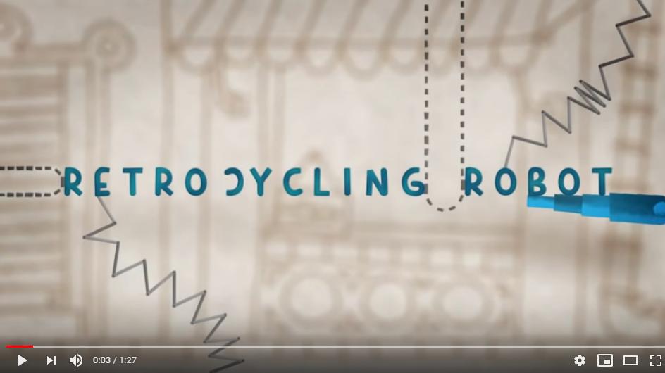 Retrocycling Robot