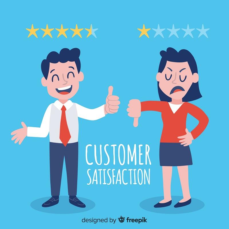 La satisfacción del cliente