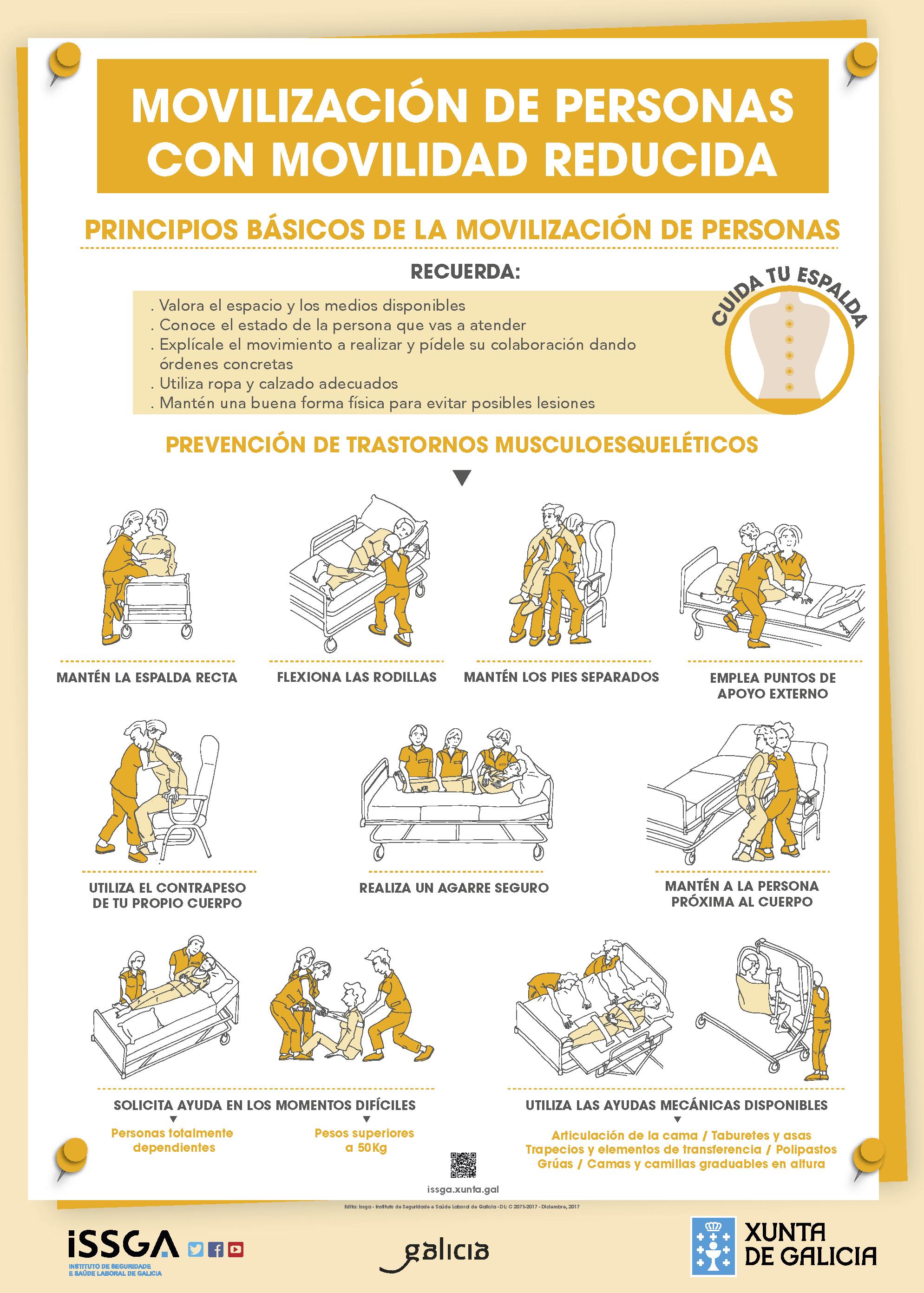 Movilización de personas con limitaciones físicas